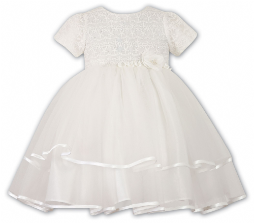 Sarah Louise Ivory Occasional Ballerina Dress